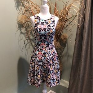 NWOT Xhiliration Jersey Fit&Flare Skater Dress